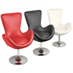 Bucket Racing Chair in Black, Red or White