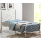 Beautiful Melissa Metal Bed with Choice of Mattresses