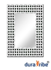 Spencer Wall Mirror with Bevelled Glass - Large Size Unique Designer Wall-Mounted Mirror - Hang Port