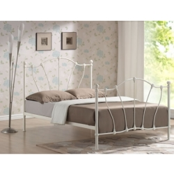 Fabulous Hoxton Metal Bed with Choice of Mattresses