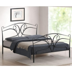 Seline Metal Bed with Choice of Mattresses