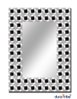 Chelsea Wall Mirror with Bevelled Glass - Large Size Unique Designer Wall-Mounted Mirror - Hang Port