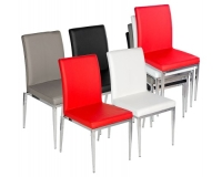 Alberta Stack able Dining Chair in Multiple Colour Choices