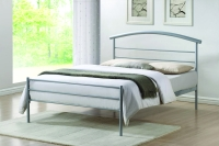 Brennington Metal Bed with Aluminium Finish