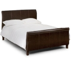 Faux Leather Bedstead
