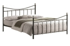 Oban Metal Bed in Black finish