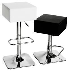 Compton Kitchen Breakfast Bar Stool in White Or Black