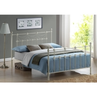 Fantastic Omero Metal Bed with Choice of Mattresses