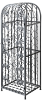 Decorative Wrought Iron 45 Bottle Rack Unit