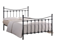 Florida metal bed in Ivory or Black finish