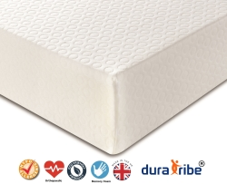 DuraTribe Golden Sleep 1500 Orthopaedic Memory Foam Mattress