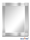 Dakota Wall Mirror with Bevelled Glass - Large Size Unique Designe