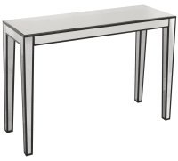 Simple ad Sleek Clear Mirrored Console Table