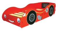 Racing Car Junior Bed in a red paint finish