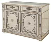 Mirrored Two Drawer Two Door Sideboard