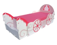 Princess Carriage Single Bed