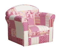 Mini Armchair with Patchwork