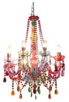 Funky Gypsy Multicoloured Chandelier Light