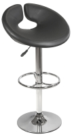 Generoso Kitchen Breakfast Bar Stool in Black or White