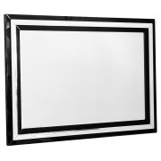 Sleek and Stylish Black Borders Mirror