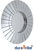 Oslo Wall Mirror, Designer Bevelled Round Shape Wall Mirror, 80 cm Diameter
