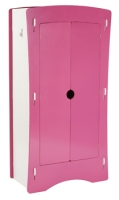 Blush Wardrobe in white and pink paint finish