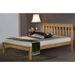 Denver Wooden Bed with Choice of Mattresses