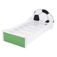 Football Bed in white paint finish