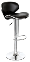 Duo Kitchen Breakfast Bar Stool In Black