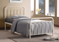 Miami Metal Bed with Choice of Mattresses