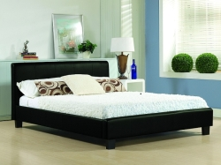 Hamburg Faux Leather Bed with Choice of Mattresses