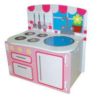 Playbox Kitchen in bright and vibrant colours