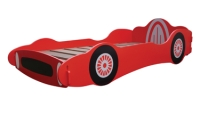 Stylish Racing Car Bed in a red paint finish