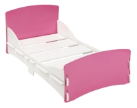 Blush Junior Bed in Pink and White Paint Finish