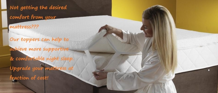 Memory Foam, Reflex Foam & Latex Toppers and Pillows !!!