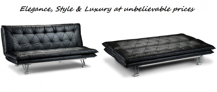 Luxurious Sofa Beds available in various styles